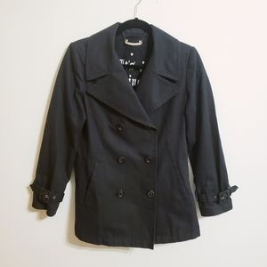 Juicy Couture Black Double Breasted Jacket...M